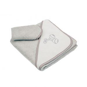 מגבת אמבטיה + מגבת פנים
