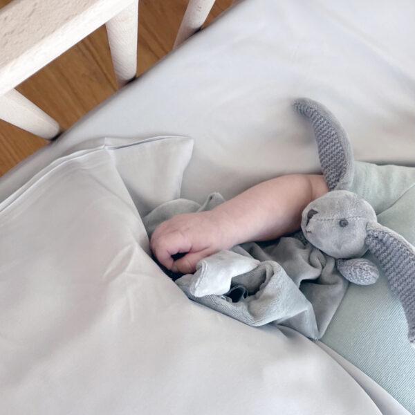 סדין מיטת תינוק מבמבוק